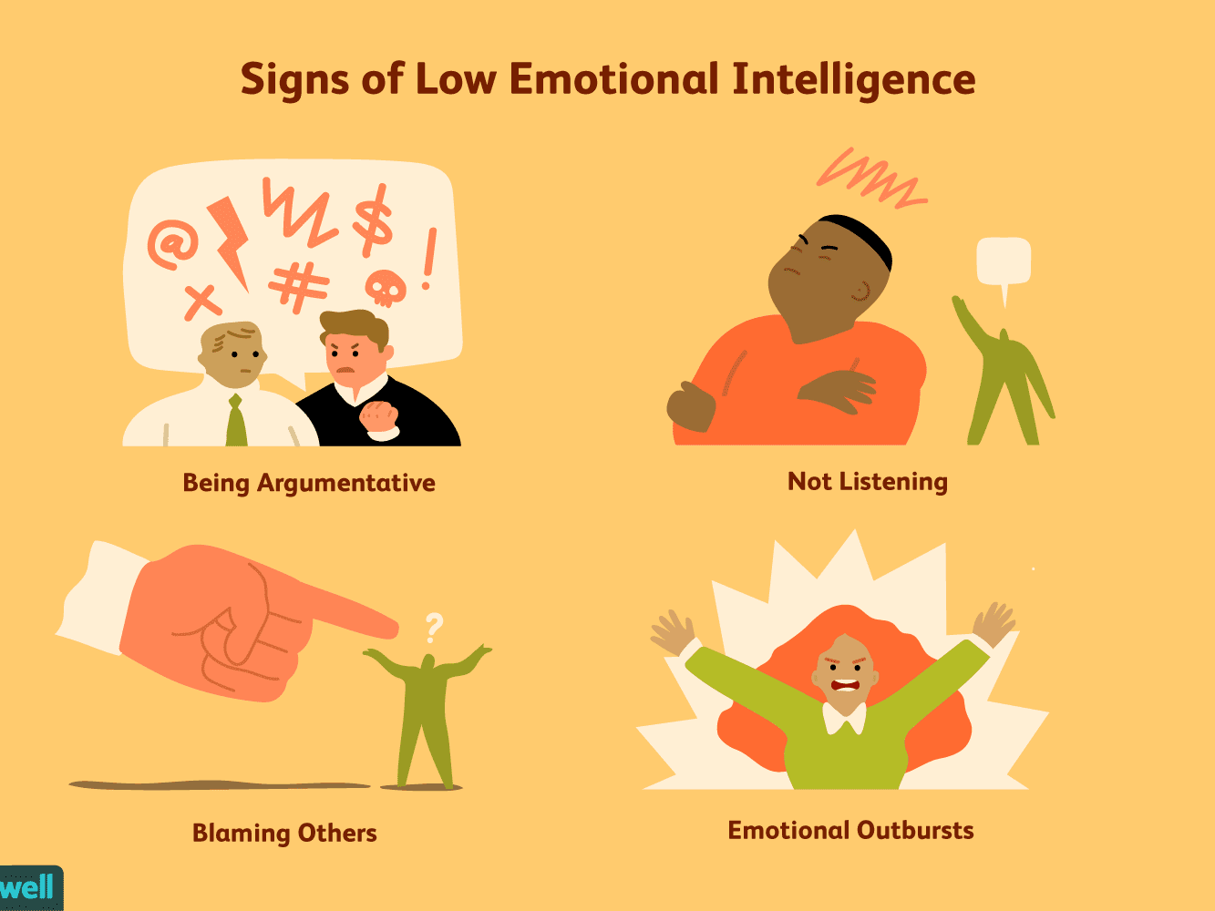 9 Signs of Low Emotional Intelligence
