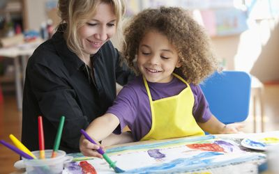Art therapy can be a useful treatment tool.