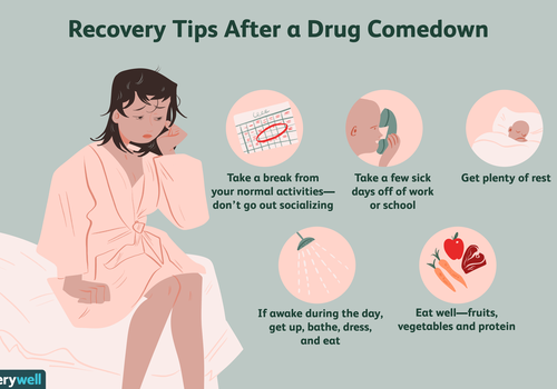 Recovery Tips After a Drug Comedown