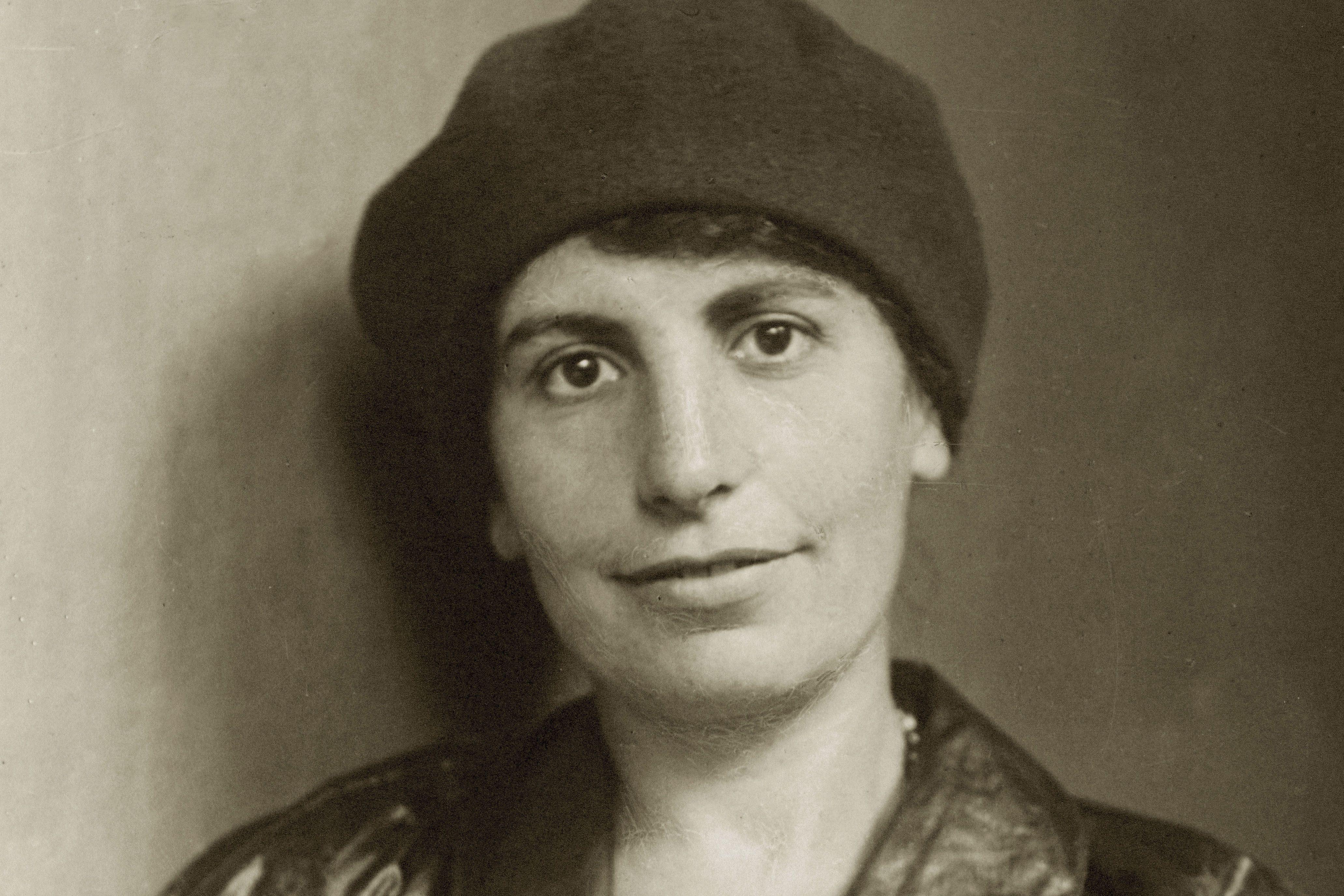 Portrait of Anna Freud