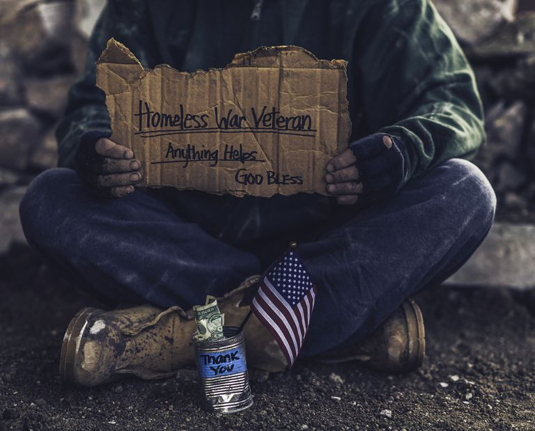 PTSD increases the chances that veteran will become homeless.