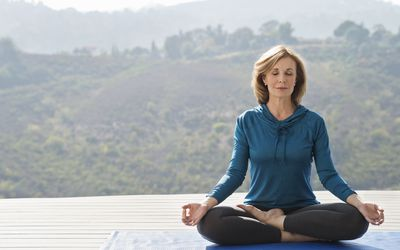 Meditation can be grasped even by beginners.