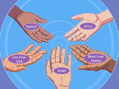 organizations that support racial equality