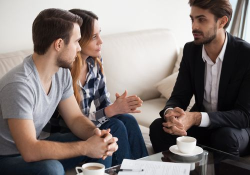 Family intervention with a professional therapist