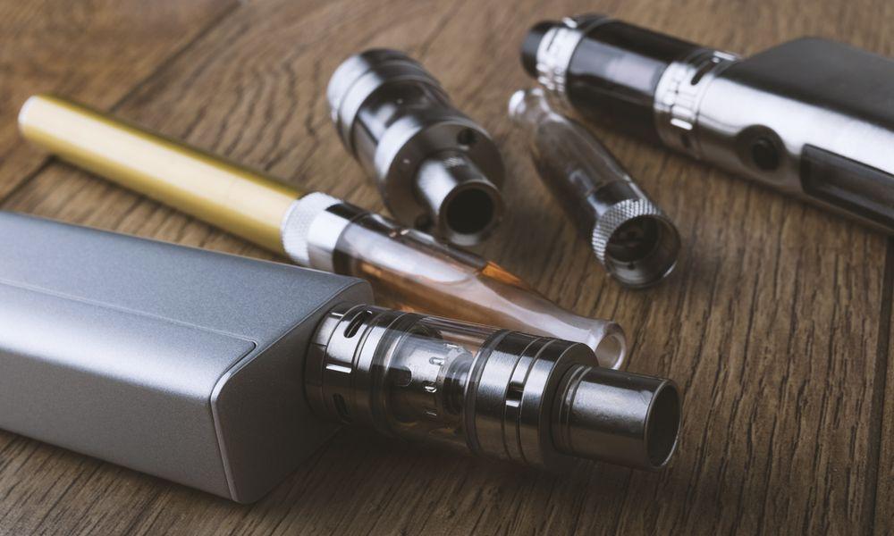 various e-cigarettes and vape pens