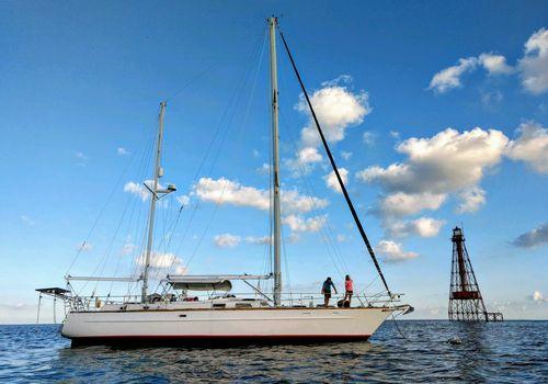 Amy Morin sailboat