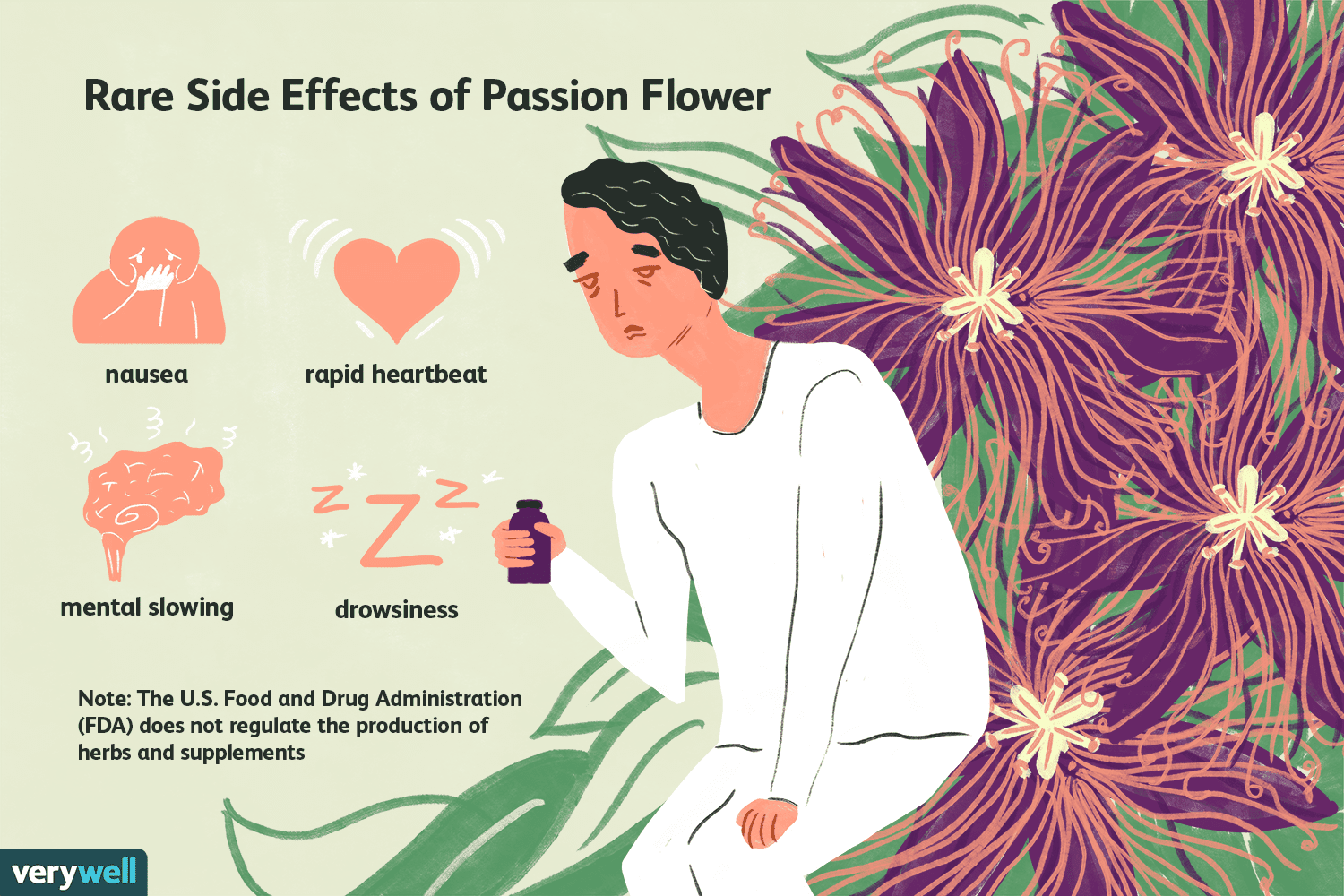 Passion Flower Benefits Side Effects Dosage And Interactions