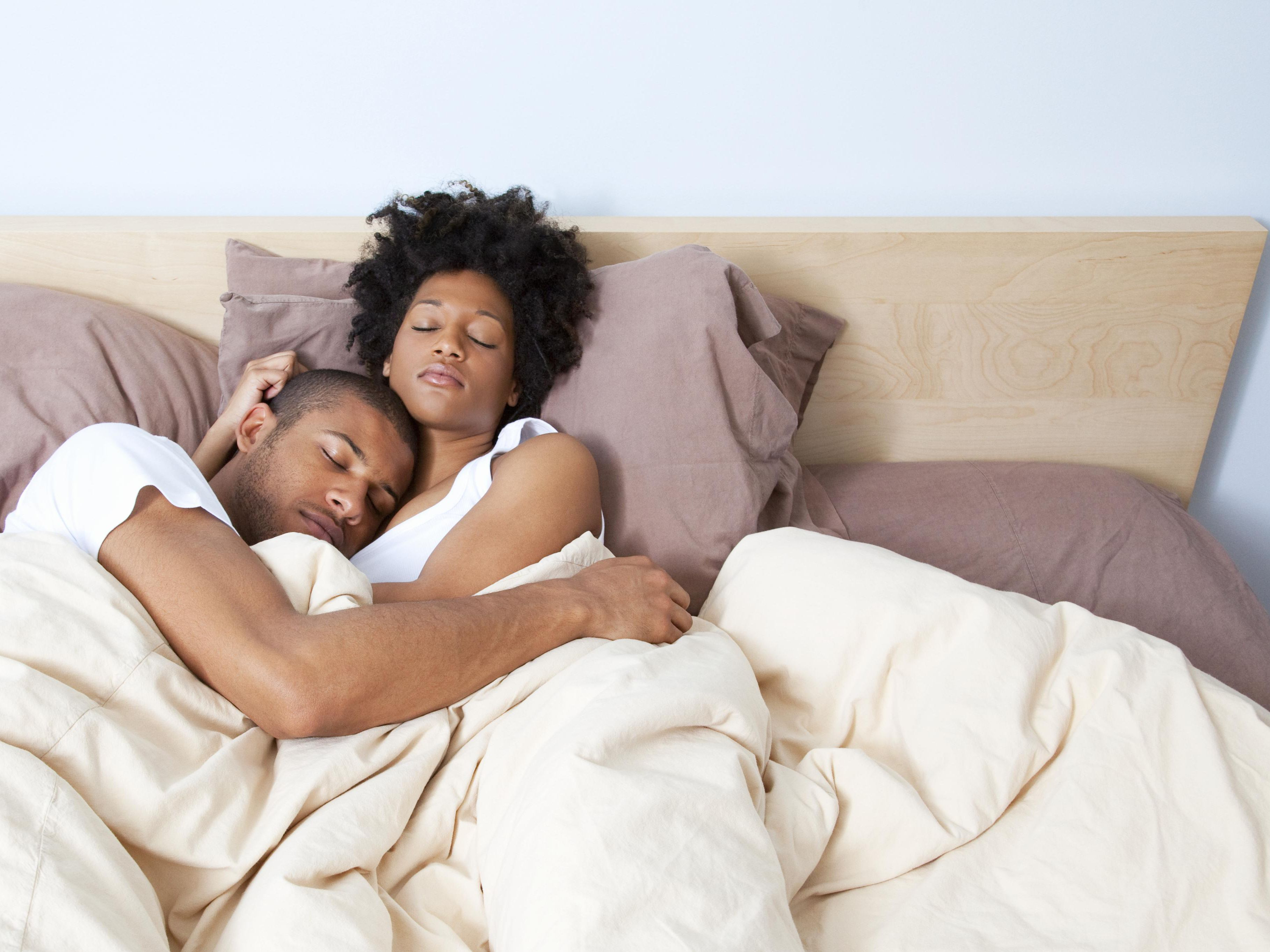 Married Couples And Sleeping Together