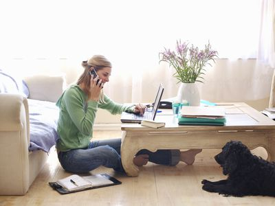 Working from home can affect your mental health.