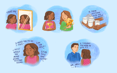 Signs of low self-esteem