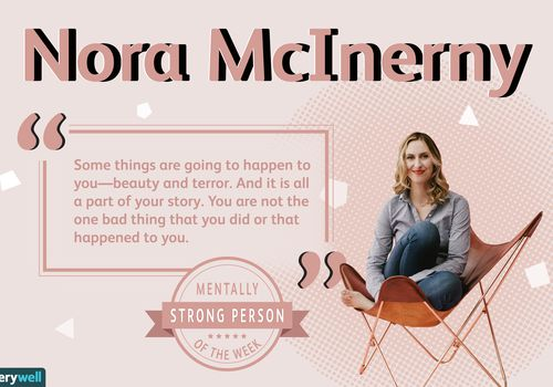 Nora McInerny is the mentally strong person of the week.