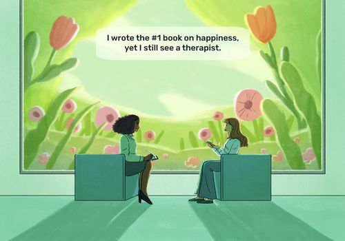 Two women in a therapy session.