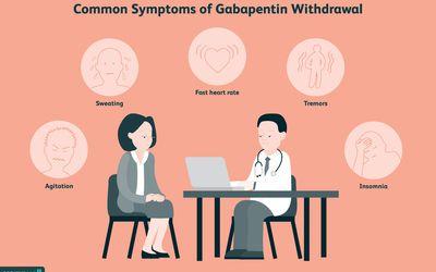 common symptoms of gabapentin withdrawal