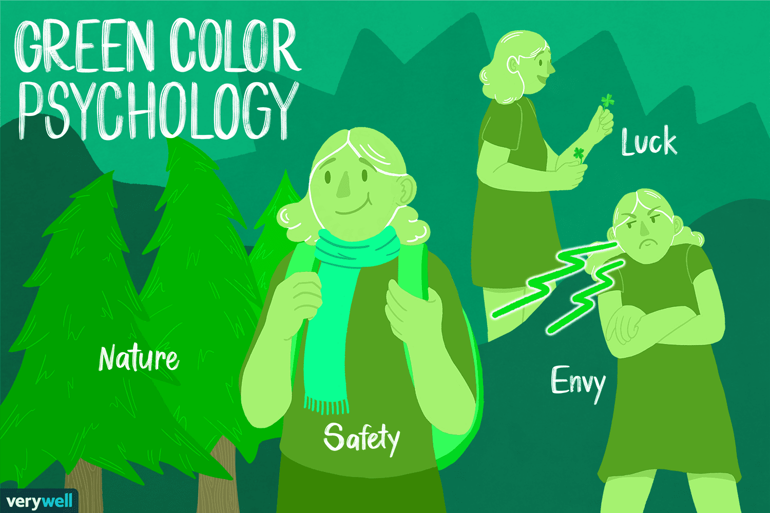 Green in Color Psychology: How Does Green Make You Feel?