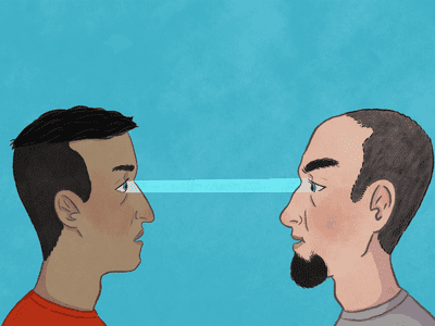 How to maintain good eye contact