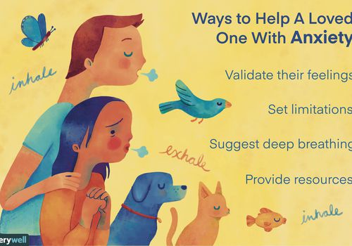 Ways to help a loved one with anxiety